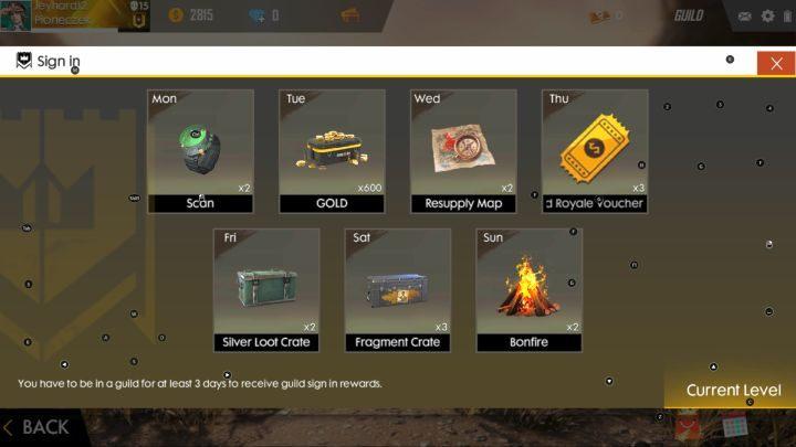 Guild Garena Free Fire Garena Free Fire Guide Gamepressure Com