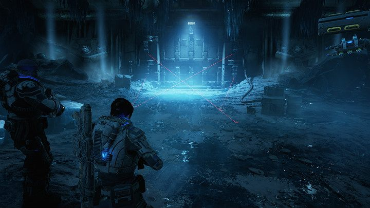 Kait and Del go under the glacier in search of a hidden research facility at the foot of mount Kadar - Act 2 Chapter 5 - Dirtier Little Secrets | Gears 5 Walkthrough - Act II - Gears 5 Guide