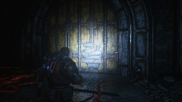 You come across iron doors - Dave can open them - Act 1 Chapter 1 - Shot in the Dark | Gears 5 Walkthrough - Act I - Gears 5 Guide
