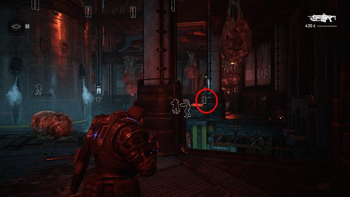 Eliminate multiple opponents and send Dave to the panels located on the pillars - Act 1 Chapter 1 - Shot in the Dark | Gears 5 Walkthrough - Act I - Gears 5 Guide