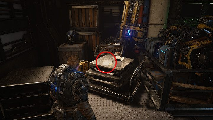 On the right, you will find another collectible - Medical Documentation: Marcus Fenix - Act 1 Chapter 2 - Diplomacy | Gears 5 Walkthrough - Act I - Gears 5 Guide