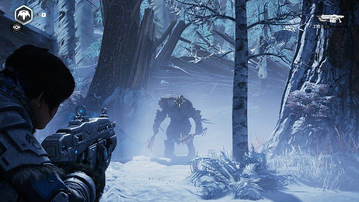 You will have to face a crystal guardian - Act 2 Chapter 3 - Forest for the trees | Gears 5 Walkthrough - Act II - Gears 5 Guide