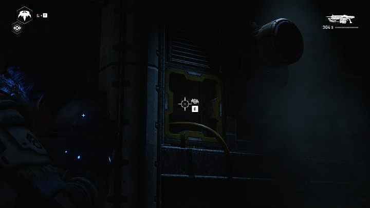 Let Jack into the ventilation shaft so he can do his job - Act 2 Chapter 4 - The Source of It All | Gears 5 Walkthrough - Act II - Gears 5 Guide