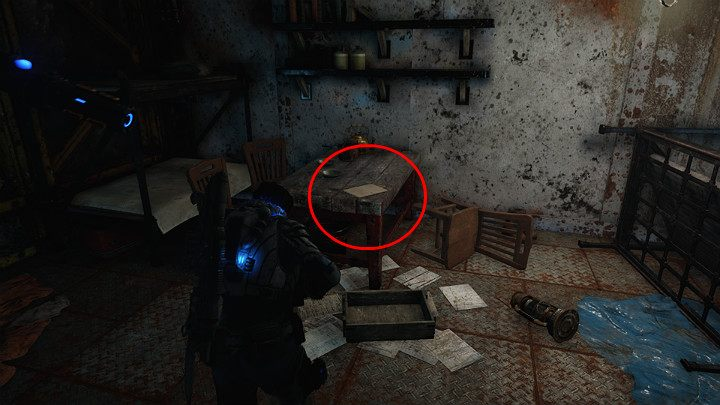 Another collectible is in the room on the left - A journal of a miner from Nethercutt - Act 2 Chapter 4 - The Source of It All | Gears 5 Walkthrough - Act II - Gears 5 Guide