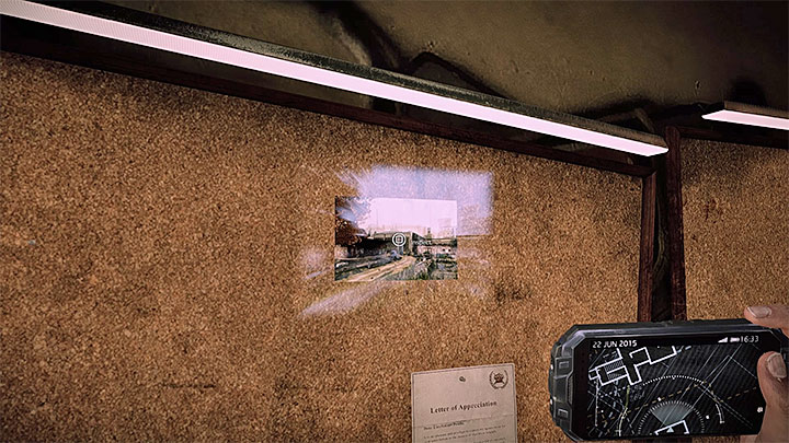 Reach a new picture in the hospital to be moved near the warehouse - Learn about the victims identity | Black | Walkthrough - Black - Get Even Game Guide