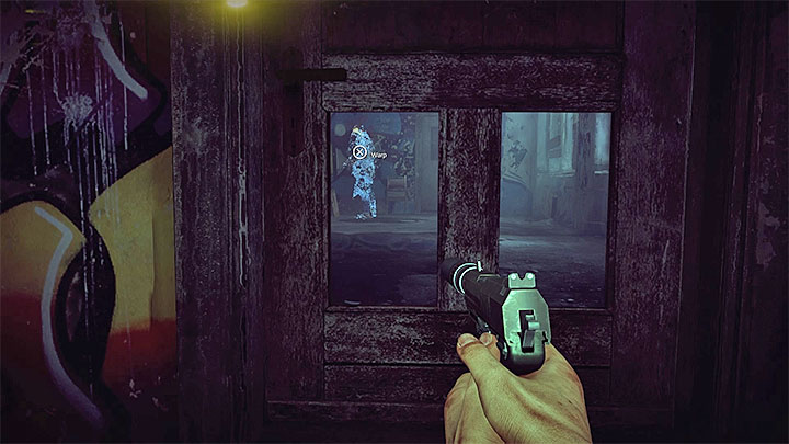 Move inside the reflection and surprise the bandit - The Grace_Kidnapping files | Red | Walkthrough - Red - Get Even Game Guide