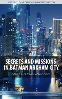 Batman - Arkham City BradyGames Official Strategy Guide ...