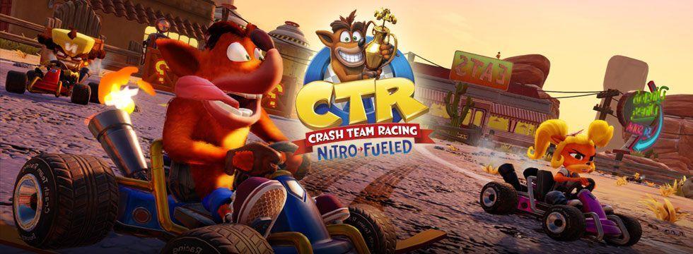 Local Arcade Mode in Crash Team Racing Nitro-Fueled - Crash
