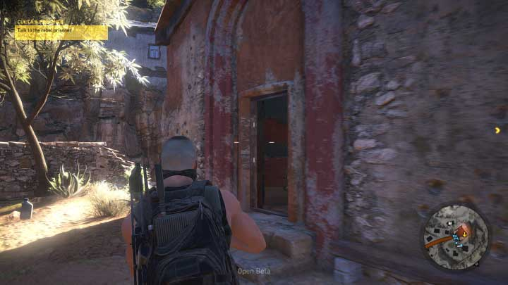 When most of the area is clear, go with your team next to the church - Cultas Prisoner | Itacua Walkthrough - Itacua - Tom Clancys Ghost Recon: Wildlands Game Guide