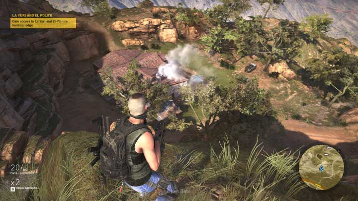 La Yuri and El Polito are the two people that must be killed in order to finish the last mission in Itacua region - La Yuri y El Polito | Itacua Walkthrough - Itacua - Tom Clancys Ghost Recon: Wildlands Game Guide