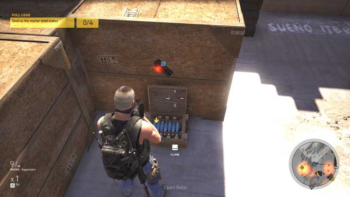 When you find the chest, destroy it by using a fragmentation grenade or C4 charge - Full Load | Montuyoc Walkthrough - Montuyoc - Tom Clancys Ghost Recon: Wildlands Game Guide