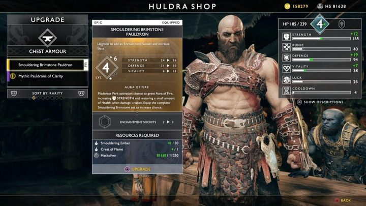 What Is Worth Crafting At The Blacksmith In God Of War