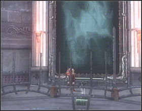 Go through the door at the back of the screen and get upstairs - The Loom Chamber - Walkthrough - God of War 2 - Game Guide and Walkthrough