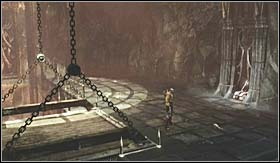 Description: in Hades, just after the place with the statue of the three judges (Judges of the Underworld) you will enter a cave and the room with the puzzle - Trophies - Gameplay - Trophies - God of War 3 - Game Guide and Walkthrough
