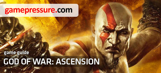God of War: Ascension guide contains a single player walkthrough with advices concerning fighting enemies, especially bosses and first encounters with particular enemies - God of War: Ascension - Game Guide and Walkthrough