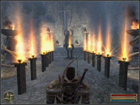 Throw all the chalices to the sacred fire (it's just next to the Innos altar in the Monastery) - Main - Quests - Gothic 3 - Game Guide and Walkthrough