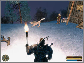 Your job is to hunt all deers from the plateau near Hanson's hut - Wolf Clan - Nordmar - Gothic 3 - Game Guide and Walkthrough