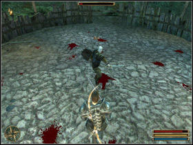 During fight with Dan keep the usual rules - Montera - Myrtana - Gothic 3 - Game Guide and Walkthrough