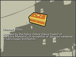 Diamond Pillbox - Extra Activities - Rewards - Extra Activities - Grand Theft Auto: Chinatown Wars - Game Guide and Walkthrough
