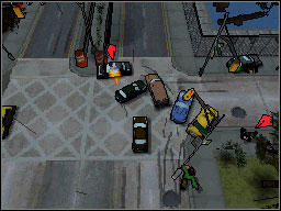 Upon arrival it turns out that the yard where the car is parked is not only heavily guarded but also tightly closed - Main Missions 41-50 - Missions - Grand Theft Auto: Chinatown Wars - Game Guide and Walkthrough