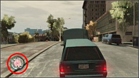 When wanted, your radar will show all the police cars and patrols - Fighting and escaping the police - Grand Theft Auto IV - Game Guide and Walkthrough