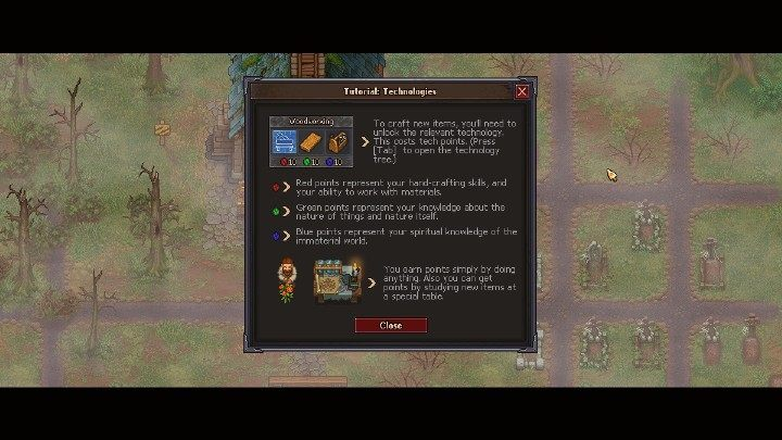 There Are Four Types Of Points In Graveyard Keeper