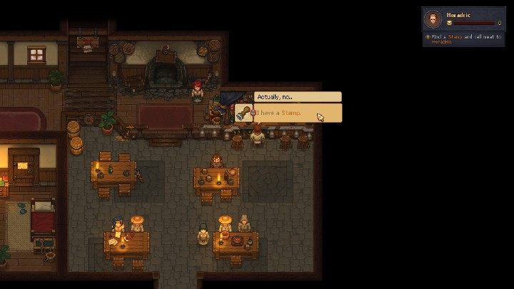 The Stamp In Graveyard Keeper Is Needed To Sell Meat At Inn