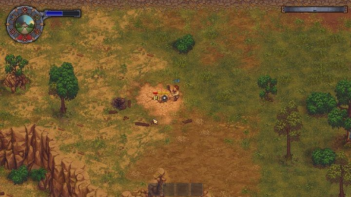There Are A Few Holes In The Ground From Which You Can Extract Clay