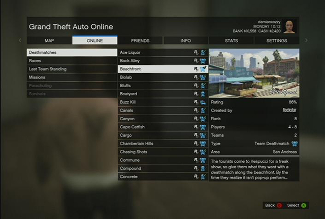 gta v private session