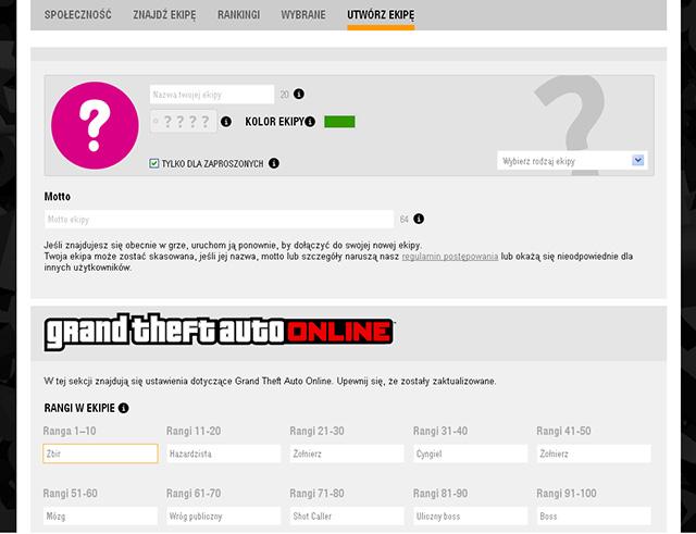 Gta Online Crew Names Gta 5 Online Crew Names Type