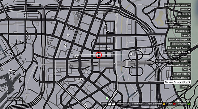 78: Gauntlet - Mission Row - Grand Theft Auto V Game Guide