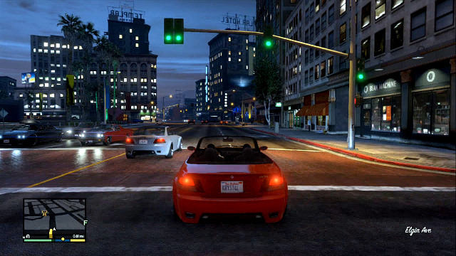 Youll drive for the most of the in-game time - Using vehicles and motorcycles - Basics - Grand Theft Auto V Game Guide