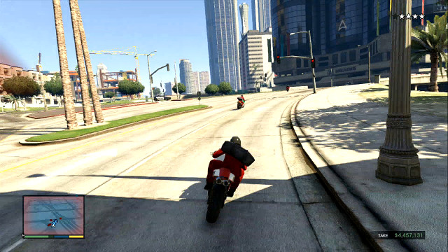 Motorcycles are controlled in a similar way to cars - Using vehicles and motorcycles - Basics - Grand Theft Auto V Game Guide