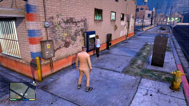 People using ATMs should have some money with them - How to earn money quickly (the fastest way to get cash) - General hints - Grand Theft Auto V - Game Guide and Walkthrough