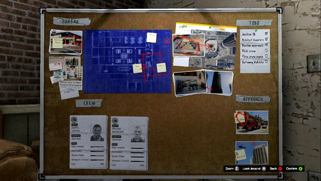 Choices during robberies grand theft auto v game guide for Bureau raid crew