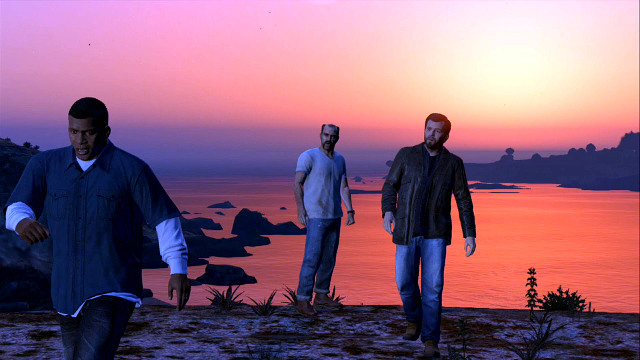 Option C is the only way to keep all character alive - Endings - Choices and endings - Grand Theft Auto V Game Guide