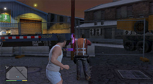 The worker with a blowtorch - 81: Driller - Main missions - Grand Theft Auto V Game Guide