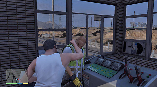 The starting point for this mission is the railway station located on the east of the map, right next to the highway and the quarry - 82: Sidetracked - Main missions - Grand Theft Auto V Game Guide