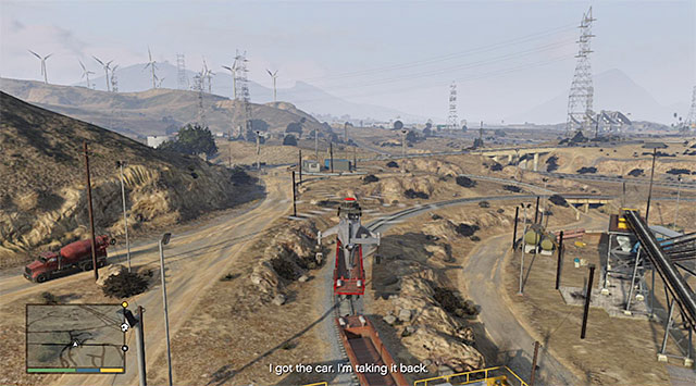 One of the empty railway cars - 82: Sidetracked - Main missions - Grand Theft Auto V Game Guide