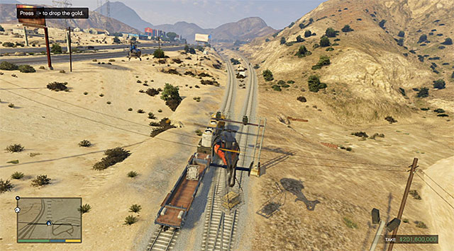 You need to put the cargo onto the railway car - 83: The Big Score #2 - the Obvious variant - Main missions - Grand Theft Auto V Game Guide