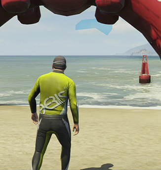 Bathing time! - Triathlon | Activities - Activities - Grand Theft Auto V Game Guide