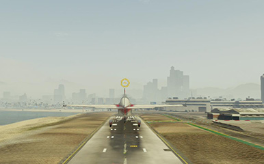 And up he goes! - Flight School | Activities - Activities - Grand Theft Auto V Game Guide