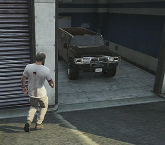 Receiving your stolen car from the police. - Police Parking Lot - Services - Grand Theft Auto V Game Guide