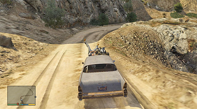 Hitting a quad or a motorcycle will knock off balance the character that is using it - Fights using vehicles - Fights - Grand Theft Auto V Game Guide