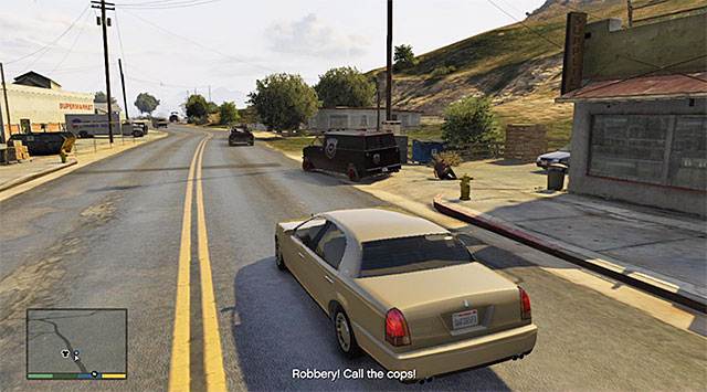 You need to stop the thieves and retrieve the money that they have stolen - Chase thieves country (1-2) - Random events - Grand Theft Auto V Game Guide