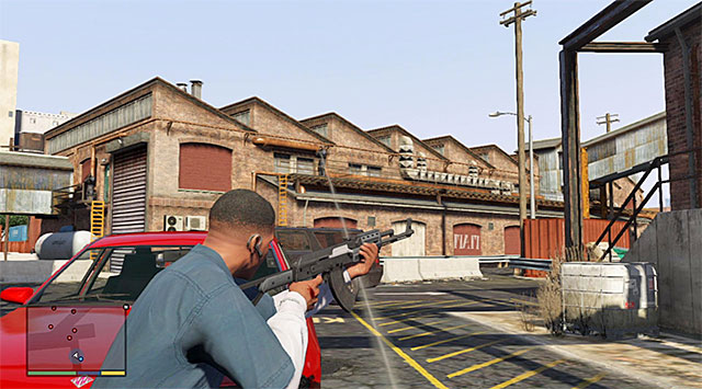You need to join Lamar and defeat the enemies with joined forces - Ending C: The Third Way - Main missions - Grand Theft Auto V Game Guide