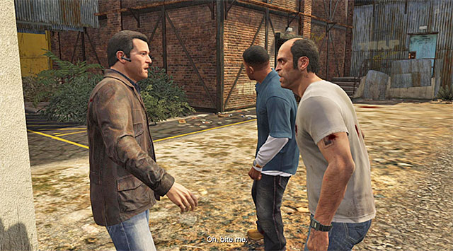 The rendezvous point - Ending C: The Third Way - Main missions - Grand Theft Auto V Game Guide