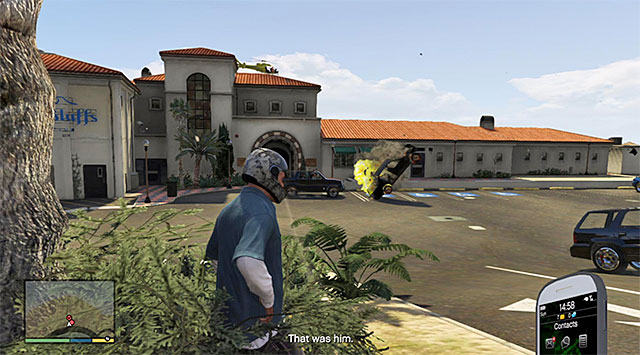 You can now cut to Franklin, who should be on his way to the Pacific Bluffs club, located to the North-West of the city - Ending C: The Third Way - Main missions - Grand Theft Auto V Game Guide