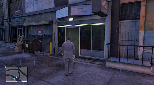 The building where you meet with the Epsilonists - Accepting the Truth - Strangers and Freaks missions - Grand Theft Auto V Game Guide