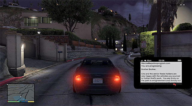 You need to deliver all of the stolen means of transport to the garage adjacent to one of the estates in the central Vinewood - Assuming the Truth - Strangers and Freaks missions - Grand Theft Auto V Game Guide